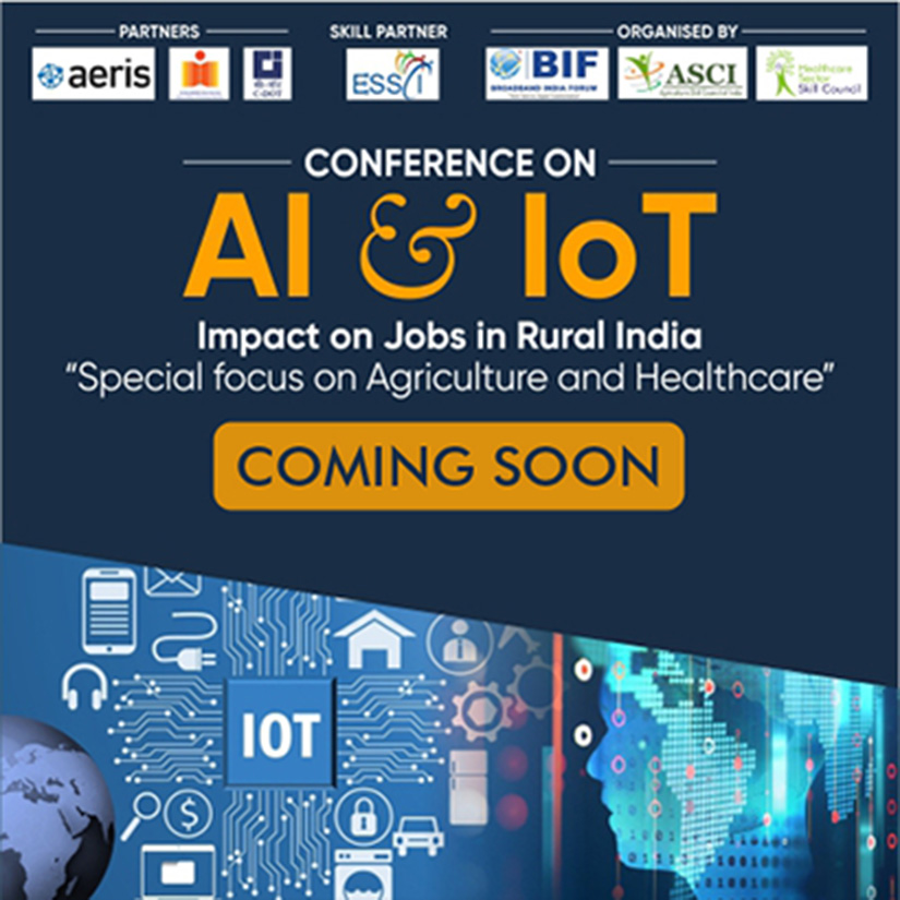 "AI & IoT Impact on Jobs in Rural India ""Special focus on Agriculture and Healthcare"""
