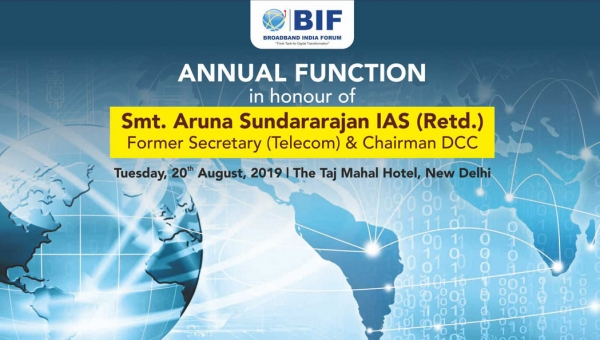Annual Function in honour of Smt. Aruna Sundararajan IAS (Retd.) - 20th August, 2019