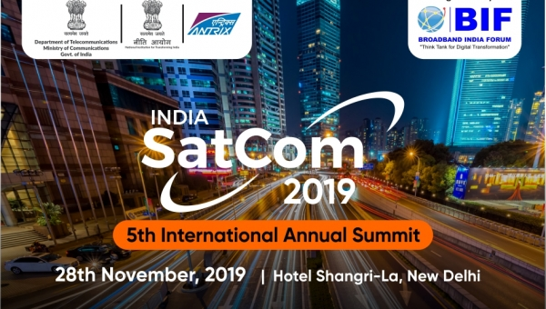 India Satcom 2019 – 28th November, 2019
