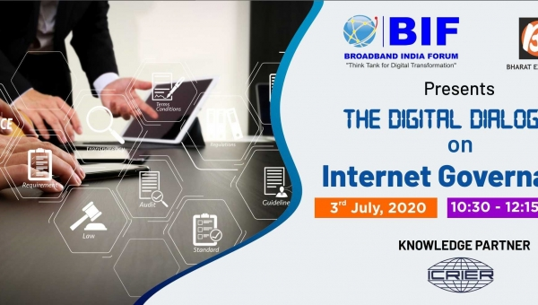 The Digital Dialogues series on Internet Governance - Session 2 - 3rd July, 2020