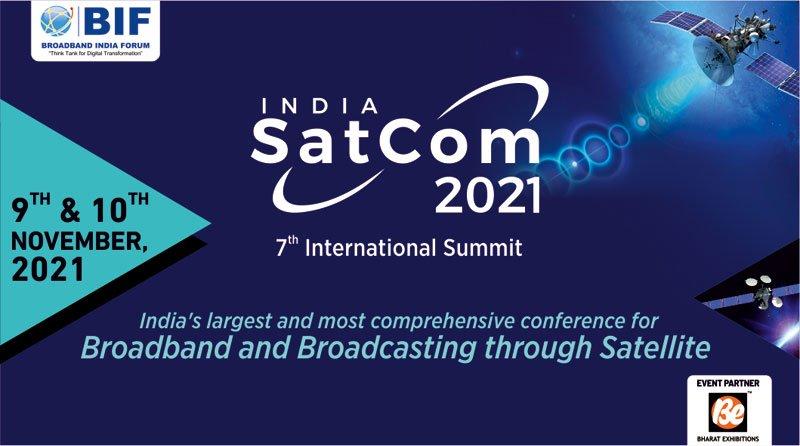 India Satcom 2021 Banner